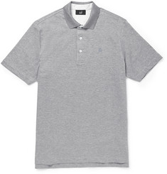 Alfred Dunhill Double-Faced Cotton Polo Shirt