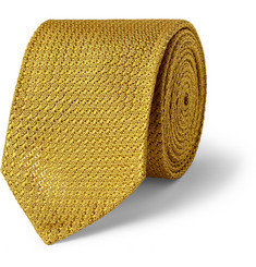 Alfred Dunhill Mulberry Silk Tie