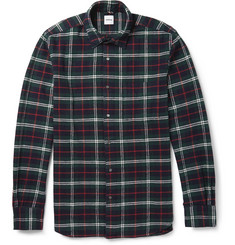Aspesi Check Woven-Cotton Shirt