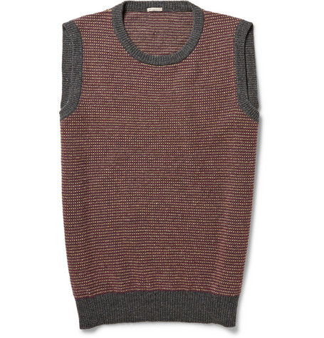 Massimo Alba Toby Wool Sleeveless Sweater