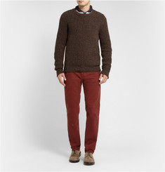 Massimo Alba Regular-Fit Garment-Dyed Corduroy Trousers