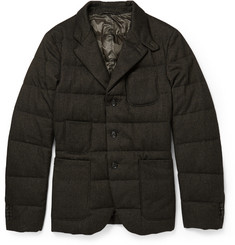 Incotex Montedoro Quilted Down-Filled Blazer