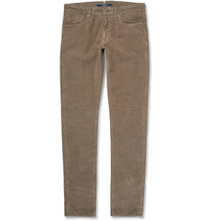 Incotex Slim-Fit Moleskin Trousers