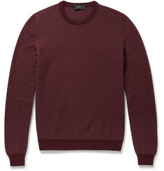 Incotex Knitted Wool and Cashmere-Blend Sweater