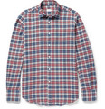 Incotex - Glanshirt Check Brushed Cotton-Flannel Shirt