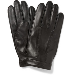 Burberry Shoes & Accessories Cashmere-Lined Leather Gloves