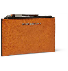 Burberry Shoes & Accessories Textured-Leather Wallet