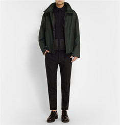 Jil Sander Oversized Cotton-Blend Bomber Jacket