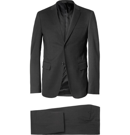 Jil Sander Grey Slim-Fit Wool-Blend Suit