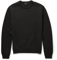 Jil Sander Wool Bubble-Knit Sweater