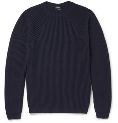 Jil Sander Knitted-Wool Crew Neck Sweater