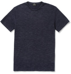 Jil Sander Waffle-Knit Cotton-Blend T-Shirt