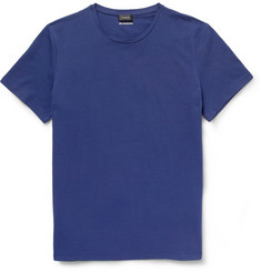 Jil Sander Cotton-Blend Jersey Crew Neck T-Shirt