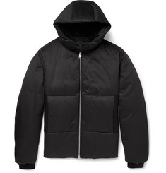Balenciaga Hooded Quilted Cotton-Blend Jacket
