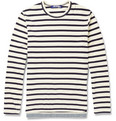Junya Watanabe - Striped Long-Sleeved Cotton-Jersey T-Shirt