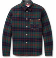 Junya Watanabe - Padded Check Wool-Blend Shirt