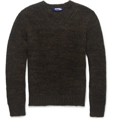 Junya Watanabe Open-Knit Mohair-Blend Sweater