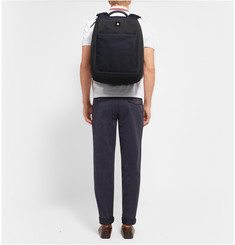 Alfred Dunhill Traveller Mesh and Canvas Rucksack