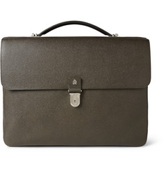 Alfred Dunhill Bourdon Grained-Leather Briefcase