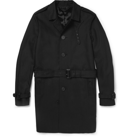 Burberry Prorsum Single-Breasted Cotton-Gabardine Trench Coat