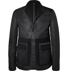 Burberry Prorsum Reversible Nylon and Moleskin Blazer