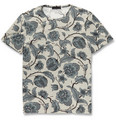 Burberry Prorsum Printed Fine Cotton-Jersey T-Shirt