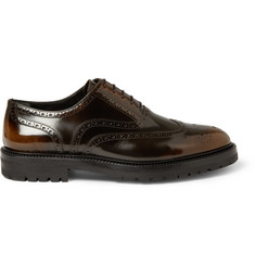 Burberry Prorsum Burnished Patent-Leather Brogues