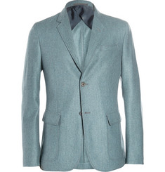 Gucci Unstructured Lightweight Wool and Cashmere-Blend Blazer