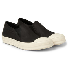 Rick Owens DRKSHDW Canvas Slip-On Sneakers