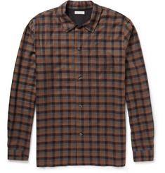 Margaret Howell Check Cotton and Cashmere-Blend Shirt