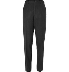Margaret Howell Wide-Leg Herringbone Wool Trousers