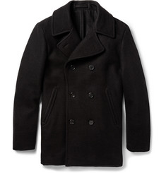 Margaret Howell Regular-Fit Wool-Blend Peacoat
