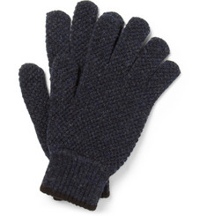 Margaret Howell Waffle-Knit Merino Wool Gloves