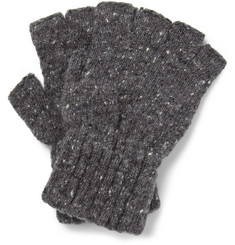 Margaret Howell Donegal Wool Fingerless Gloves
