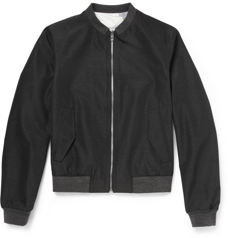 Wooyoungmi Reversible Wool-Blend Bomber Jacket
