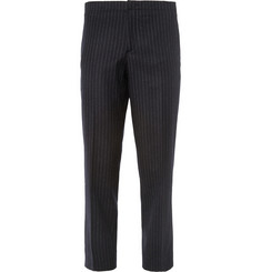 Wooyoungmi Cropped Wool-Blend Trousers