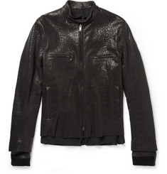Haider Ackermann Double-Layered Leather Jacket