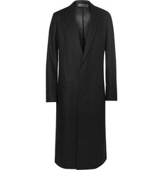 Haider Ackermann Herringbone Wool Overcoat