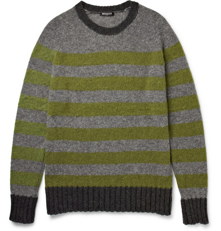 Balmain Striped Wool Sweater