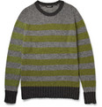 Balmain - Striped Wool Sweater