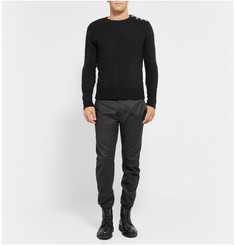Balmain Wool and Mohair-Blend Sweater