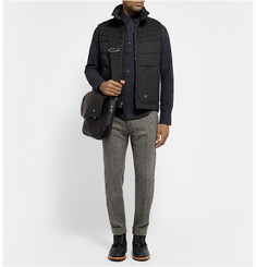 Rag & bone Stride Quilted Wool and Shell Gilet