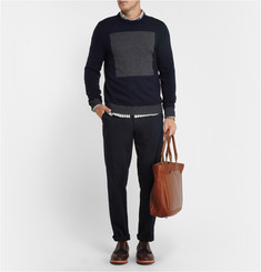 Rag & bone Contrast-Panel Wool Sweater