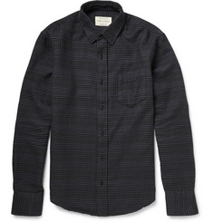 Rag & bone Gingham Check Brushed-Cotton Shirt
