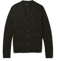 Rag & bone Emerson Fine-Knit Wool Cardigan