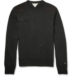 Rag & bone Cotton-Blend Fleece Sweatshirt