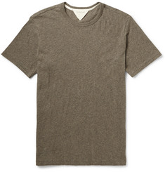 Rag & bone Tweed Marled Cotton-Jersey T-Shirt