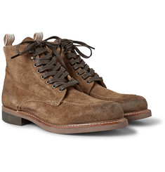 Rag & bone Rowan Suede Lace-Up Boots