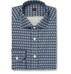 MP di Massimo Piombo Lightweight Printed-Cotton Shirt