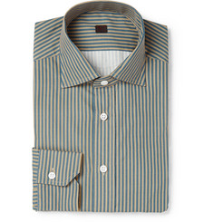 MP di Massimo Piombo Striped Cotton Shirt